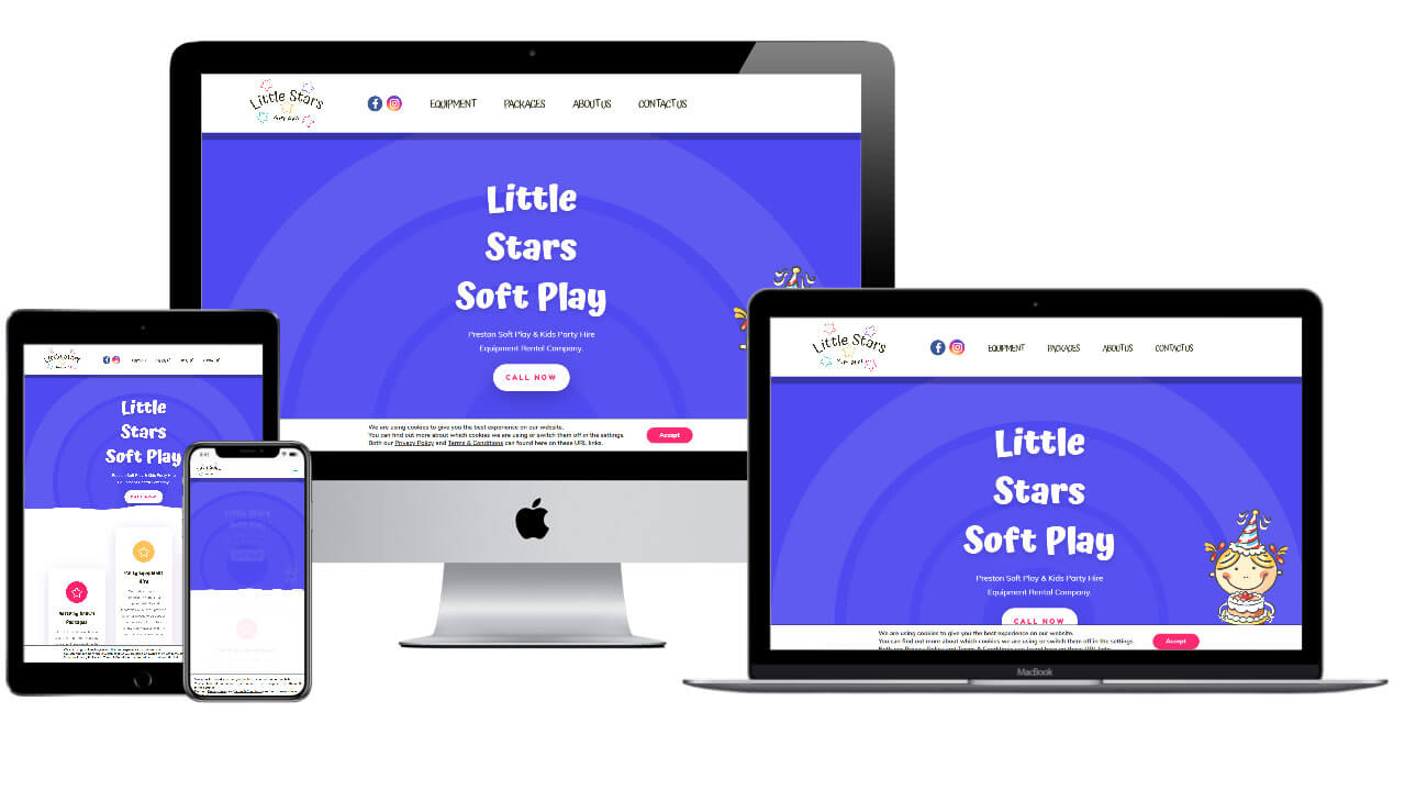 Riot Vision Little Stars Soft Play